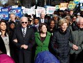 مرشحون ديمقراطيون ينضمون للاحتفالات الشعبية بيوم مارتن لوثر كينج