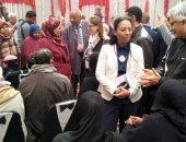 وفد المديرين التنفيذيين للبنك الدولى يختتم زيارته لمصر بمركز تكافل وكرامة بأسوان