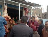 السكرتير المساعد بالقليوبية يقود حملة إشغالات بالخانكة ويحرر 126 محضرا