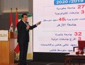 وزير التعليم العالى: نعمل فى 39 مشروعًا قوميا لتحقيق أهداف استراتيجية 2030