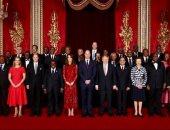 السيسى يشارك فى حفل الاستقبال الرسمى لرؤساء الوفود بقصر باكينجهام الملكى