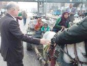 محافظة القليوبية: تسليم سيدة شبرا الخيمة عربة الكارو بعد ضبطها تلقى رتش المبانى