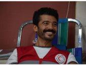 زوجة خالد النبوى تطمئن جمهوره: الأطباء فى المنزل يتابعون حالته يوميا