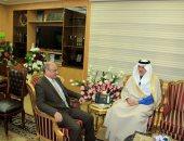 وزير العدل يستقبل سفير المملكة السعودية بالقاهرة لبحث سبل التعاون بين البلدين