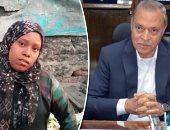 محافظ القليوبية: لن نتأخر عن مساعدة سيدة الكارو بشبرا الخيمة