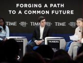 زعماء العالم يتوافدون على دافوس لحضور المنتدى الاقتصادى العالمى