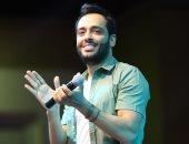 """رامى جمال يطرح أغنيته الجديدة """"أنا لوحدى"""" قريبًا.. وزوجته: حظ سعيد يا حبيبى"""