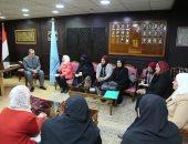 محافظ كفر الشيخ: إنشاء فصول لمحو أمية السيدات العاملات بالجهات الحكومية
