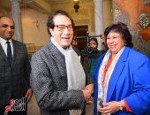 مؤسسة فاروق حسنى للفنون تشكر وزيرة الثقافة وتهنئ المشاركين فى حفلها