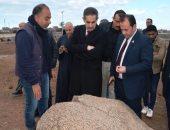 محافظ الغربية يزور قرية صالحجر الأثرية ويؤكد أهمية وضعها على الخريطة السياحية الأثرية