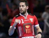 محمد سند أفضل لاعب فى مباراة مصر وأنجولا بأمم أفريقيا لليد
