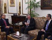 رئيس الوزراء يلتقى الرئيس التنفيذي لشركة DHL Express العالمية