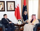 وزير الداخلية البحرينى يستقبل سفير المملكة المتحدة
