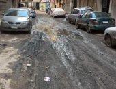 قارئ يطالب برصف شارع متفرع من الخليفة المامون بكفر الشيخ