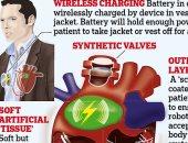 وداعا لزراعة القلب بحلول 2028.. التوصل لقلب روبوتى رقيق يعمل بالبطارية