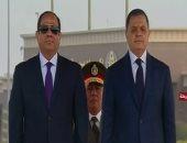 الرئيس السيسي يكرم عددا من رجال الداخلية المتميزين بحفل عيد الشرطة