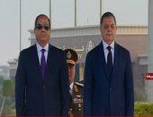 بدء احتفالية عيد الشرطة بحضور الرئيس ووزير الداخلية