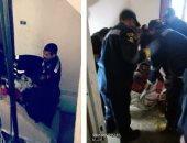 الحماية المدنية تنقل مسنة للمستشفى بالإسكندرية لعدم قدرتها على الحركة..صور