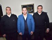 صور.. حزب الغد يكرم قيادات الشرطة بقسم دار السلام بمناسبة عيدهم الـ68