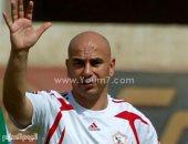 زى النهاردة..حسام حسن يسجل أول أهدافه بقميص الزمالك فى شباك الأهلى
