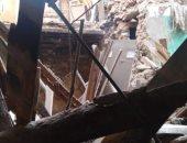 مصرع سيدة وإصابة شخصين فى انهيار سقف عقار بإمبابة