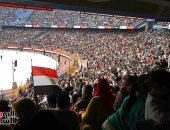 """صور.. انتهاء احتفالية  """"شعب واحد..وايد واحدة.. ووطن واحد"""" باستاد القاهرة"""