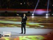 """صور.. محمود الليثى ومصطفى حجاج يشعلان حماس المواطنين باحتفالية """"وطن واحد"""""""