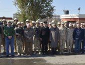 الفريق أسامة ربيع يلتقى مدير أمن الإسماعيلية ويتفقد قوات تأمين المجرى الملاحى
