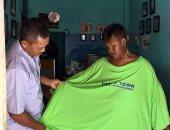 رحلة كفاح الطفل الأكثر سمنة فى العالم لخسارة 17 رطلا من وزنه.. فيديو وصور