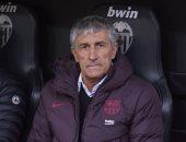 مدرب برشلونة: فالنسيا استحق الفوز وعلينا العمل لإيجاد الحلول الهجومية