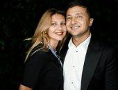 أولينا زيلينسكى متغزلة فى زوجها رئيس أوكرانيا: أشعر بجواره أننى مثل الفراشة