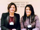 وزيرة التعاون تتفق مع رئيس المركز العالمى للبنية التحتية لزيادة الاستثمار فى مصر