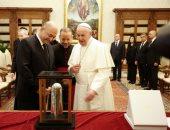 البابا فرانسيس يستقبل الرئيس العراقى بالفاتيكان