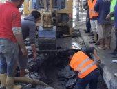 """استجابة لـ""""سيبها علينا"""".. مياه القناة: تم إصلاح المحطة المغذية لعزبة أبو نصر الله"""