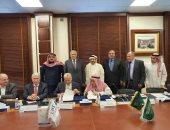 محلب يشهد توقيع عقد بين المقاولون العرب وجامعة الأعمال والتكنولوجيا بالسعودية
