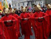 احتفالات حاشدة بالسنة الصينية الجديدة وسط لندن