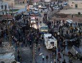 مقتل 4 أشخاص جراء انفجار سيارة ملغومة فى مدينة تل أبيض شمال سوريا