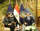 تفاصيل زيارة شباب جاليات مصر بالخارج لأكاديمية الشرطة وتفقد القرية التكتكية