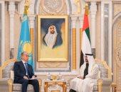 محمد بن زايد ورئيس كازاخستان يوقعان مذكرات تفاهم بين البلدين