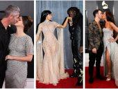 صور.. قبلات خطفت العدسات والأضواء فى حفل توزيع جوائز Grammy