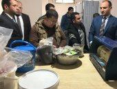 صور.. ضبط مصنع غير مرخص لإنتاج الحلويات فى بنى سويف
