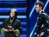 """فوز """"bad guy"""" بجائزة الجرامى لأغنية العام.. وبيلى إيليش أفضل فنانة شابة"""