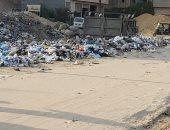 شكوى من انتشار القمامة والتلال الترابية خلف مساكن الشروق بمدينة نصر