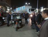 صور .. محافظ الغربية يقود حملة إشغالات مكبرة فى شوارع حى أول وثان طنطا