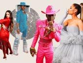 أغرب إطلالات النجوم فى حفل 2020 Grammy.