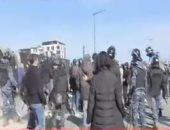 تصاعد الاشتباكات بين الأمن اللبنانى والمتظاهرين فى محيط البرلمان