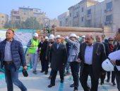 وزير النقل يعلن بد الحفر الجزء النفقى بين محطتى ماسبيرو والزمالك بالخط الثالث