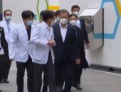 رئيس كوريا الجنوبية يحذر من موجة ثانية من كورونا فى حال عدم إيجاد لقاح