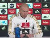 زيدان يدعم سيميونى قبل ديربى ريال مدريد ضد أتلتيكو ويؤكد بقاء بيل