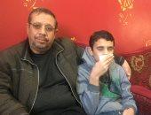 """وزيرة الصحة تستجيب لـ """"اليوم السابع"""" وتوجه بعلاج """"يوسف"""" بمستشفى أطفال مصر.. صور"""